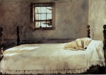 Wyeth, Master Bedroom 1965 ca