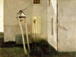 Wyeth Slight Breeze, 1968 tempera